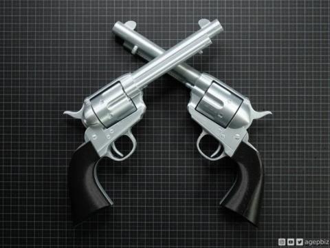 Cattleman Revolver - Colt Model 1873 Single Action Army Revolver