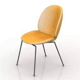 Chair Gubi 3d model