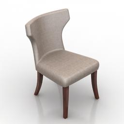 Chair Iton Dantone home 3d model