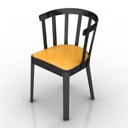 Chair Miniforms Tina 3d model