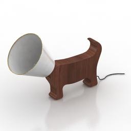 Lamp Dog 3d model