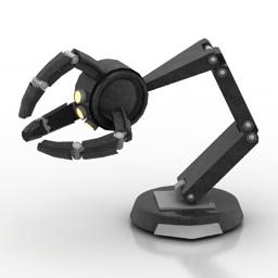 Lamp robot 3d model