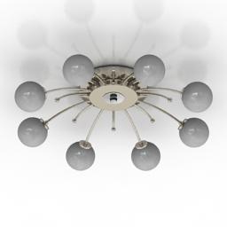 Luster Lussole VITERBO 3d model