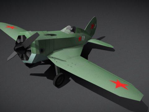Polikarpov I-16 - WW2 era fighter