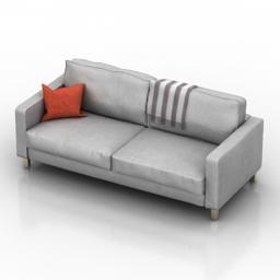 Sofa Ikea Karlstad 3d model