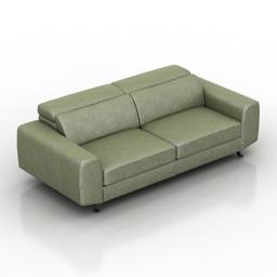 Sofa Model PL 3d model