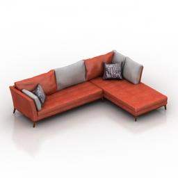 Sofa Sahara Corner 3d model