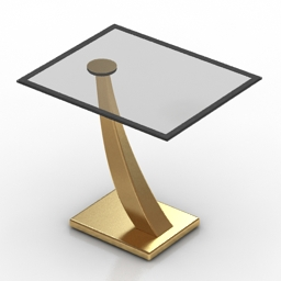 Table Greyson living 3d model