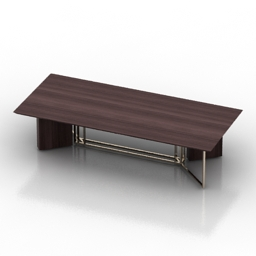 Table Meridiani Plinto marble 3d model