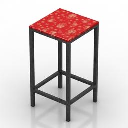 Table bar Bradford Formdecor 3d model