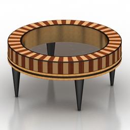 Table round Garda Decor 1972-CF 3d model