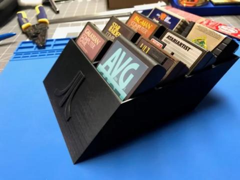 Atari 8Bit Cart Storage
