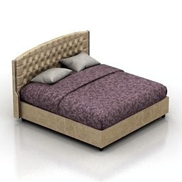 Bed Jarroy Dantone home 3d model