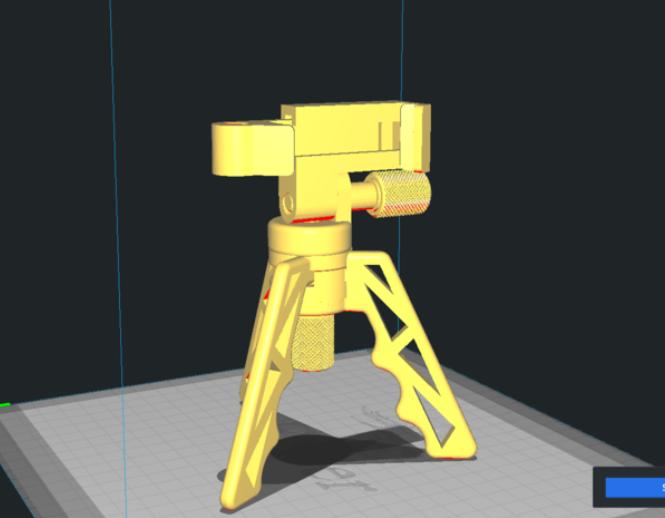 Better Screws for Tripod Folding