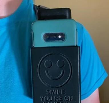 Cell Phone Body Camera