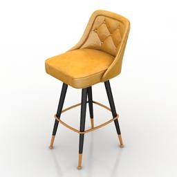 Chair bar Richardson seating corp 3d model