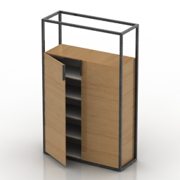 Cupboard Dider Gomez Dedicato 3d model
