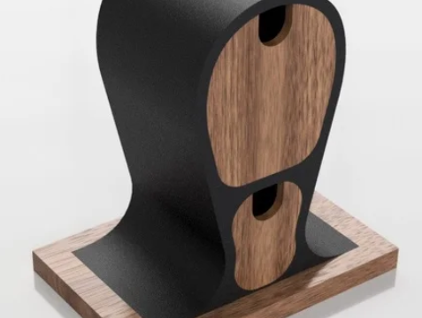 Headphone stand with drawers