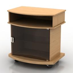 Locker Bollard 3d model