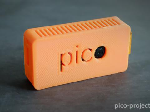 Pico - Pi Zero Case with camera