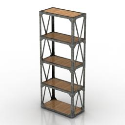 Rack loft 3d model