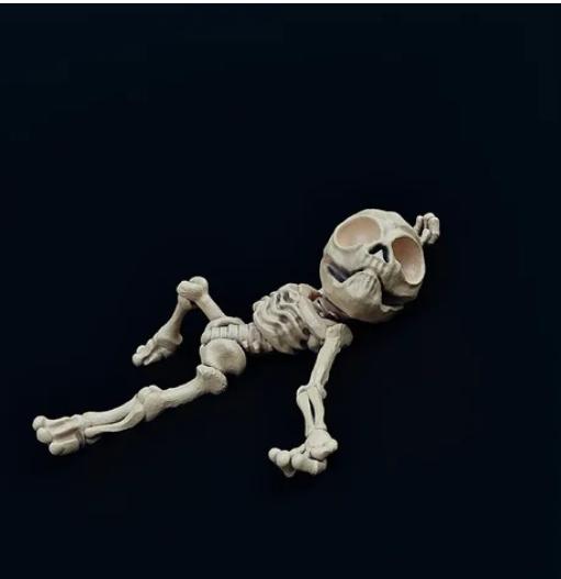 Skeletal Zeta-Reticulan Casualty