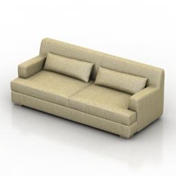 Sofa Manuel Larraga YORK 3d model