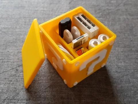Question Block - Storage Box