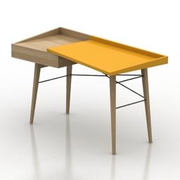 Table Litho Ligne Roset 3d model