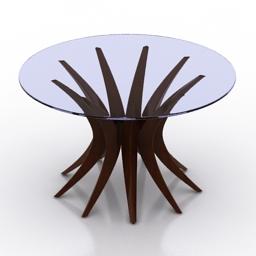 Table christopher guy niemeyer 3d model