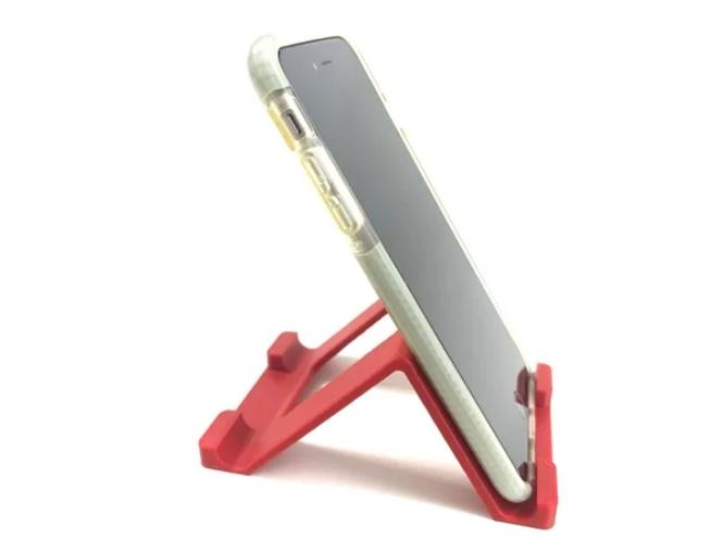 Universal dual angle (60-45°) mobile device stand