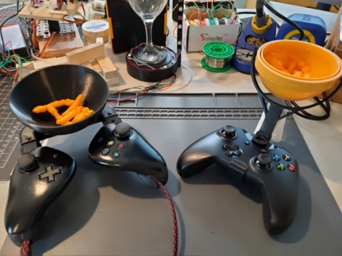 Xbox One Gyro Snack bowl, The Xbowl