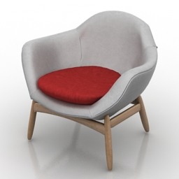 Armchair Kofod Larsen 3d model