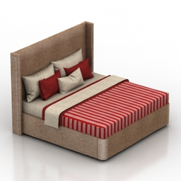 Bed Homemotions Inna 3d model