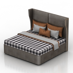 Bed Homemotions Lord 3d model