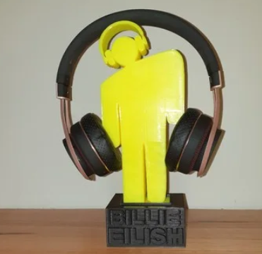 Billie Eilish Headphone Stand or large ornament