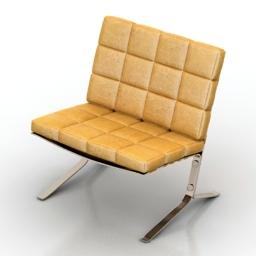 Chair Olivier Mourgue Joke 3d model