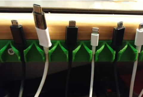 Charging cable holders