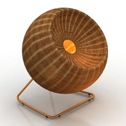 Lamp Lampara B 3d model