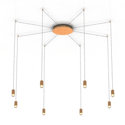 Luster VIBIA WIREFLOW 3d model
