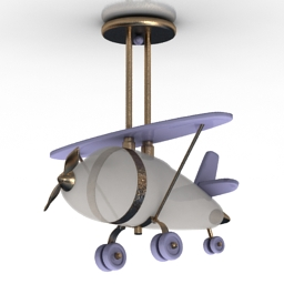 Luster airplane 3d model