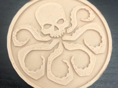 Shield and Hydra Coin