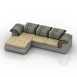 Sofa 8marta Savoy 3d model