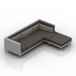 Sofa Branca Lisboa LAYER 3d model