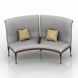 Sofa Christopher Guy 60-0001 Olsen 3d model