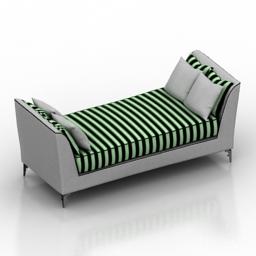 Sofa Visionnaire Turca 3d model