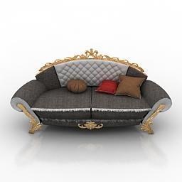 Sofa classic 3d model
