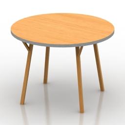 Table IDEA Circle 3d model