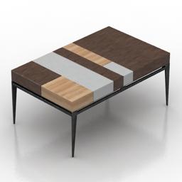 Table PROPORTION II Coffee 3d model