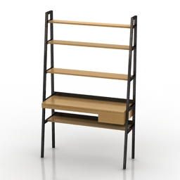 Table shelf 3d model